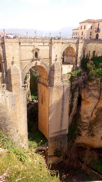 ronda bridge spain walking holiday
